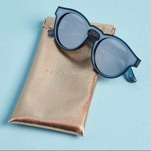 Sea Folly Bronte Sunglasses Blue Stone
